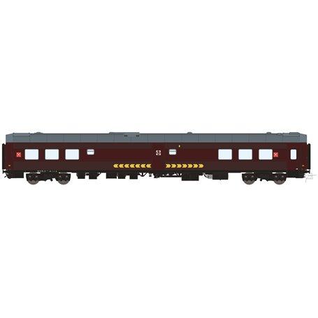 HNoll HN.1412DC Restaurangvagn SJ R4R 5447 Brun