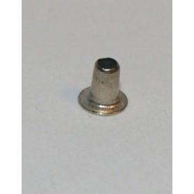 Märklin 780010 Hålnit, förnicklad, ytterdiameter 1.3 mm, längd 2.4 mm, 1 st