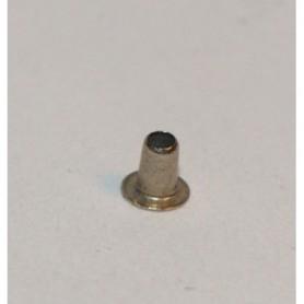 Märklin 780020 Hålnit, förnicklad, ytterdiameter 1.6 mm, längd 2 mm, 1 st
