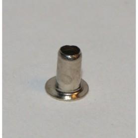 Märklin 780030 Hålnit, förnicklad, ytterdiameter 2 mm, längd 3.8 mm, 1 st