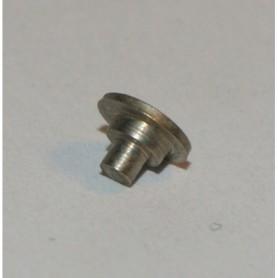 Märklin WN56611A Nit med ansats, förnicklad, diameter 1.4 mm|2.4 mm, längd 2.7 mm, 1 st