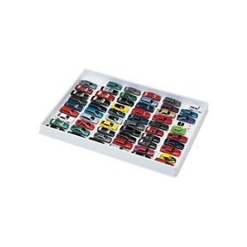Car model display unit (white), for 59 models