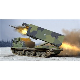 Trumpeter 01047 M270/A1 Multiple Launch Rocket System Finland/Netherlands