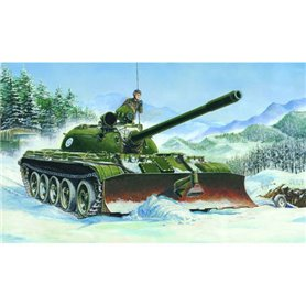 Trumpeter 00313 Tanks T-55 model 1958 with BTU-55