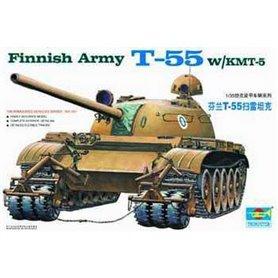 Trumpeter 00341 Tanks Finnish Army T-55 W/KMT-5