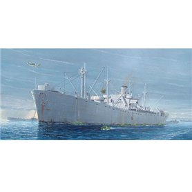 Trumpeter 05301 Fartyg WW2 Liberty Ship S.S. Jeremiah OBrien