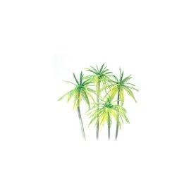 Preiser 18600 Palmträd, 4 st, byggsats