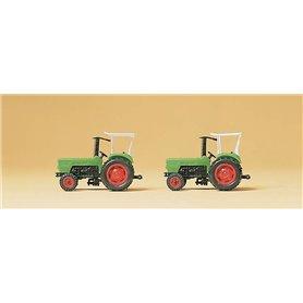Preiser 79506 Traktor Deutz D 6206, 2 st