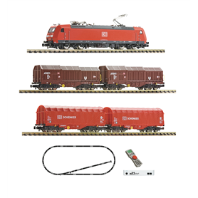 Fleischmann 931885 z21 start Digital starter set with electric locomotive class 185.1 and goods train