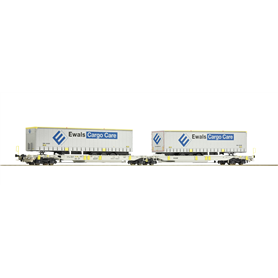 """Roco 76437 Containervagn Sdggmrs/T2000 AAE """"Ewals Cargo Care"""""""