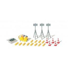 Preiser 31028 Hydraulikenhet med tillbehör