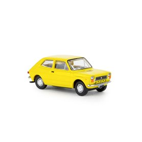 Brekina 22502 Fiat 127, gul 'Von Starline'