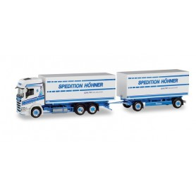 Herpa 311199 Scania CR HD interchangeable pick up truck 'Spedition Höhner | Tinka'