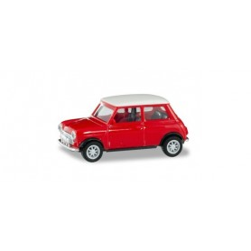 Herpa 420471 Mini Cooper with additional headlights
