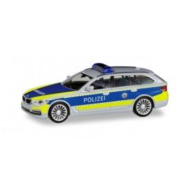 Herpa 095006 BMW 5er Touring 'motorway police North Rine-Westpfalia'