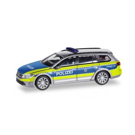 """Herpa 095020 Volkswagen Passat Variant GTE """"Police Hessen"""""""