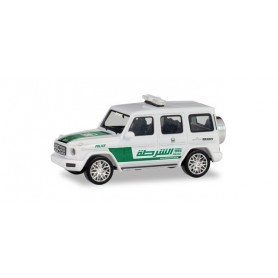 Herpa 095082 Mercedes-Benz G class 'Police Department Dubai' (VAE)