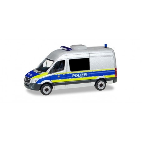 Herpa 094993 Mercedes-Benz Sprinter high Roof bus 'Police ...