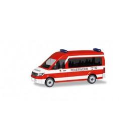"""Herpa 095013 Volkswagen Crafter bus high roof MTW """"Fire brigade Nürnberg-Neunhof"""""""