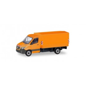 Herpa 095044 Mercedes-Benz Sprinter Pick-up |canvas communal orange