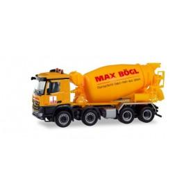 Herpa 311465 Mercedes-Benz Arocs S concrete mixer 'Max Bögl'