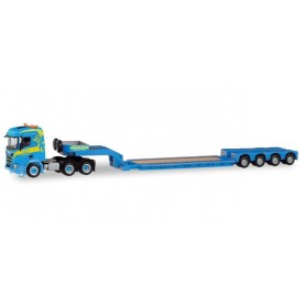 Herpa 311397 Scania CR ND low loader Trailer 'Martin Wittwer Wfattenwil' (CH)