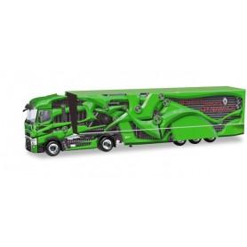 Herpa 310796-002 Renault T box semitrailer 'Tour de Dynamics'