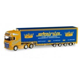 Herpa 311304 DAF XF SSC 6x2 volume semitrailer 'Steinle'