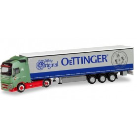 Herpa 311342 Volvo FH GL curtain canvas semitrailer 'Wandt|Oettinger'