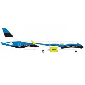 Herpa Wings 533942 Flygplan airBaltic Airbus A220-300 'Estonia'