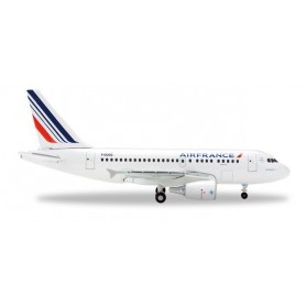 Herpa 524063-001 Flygplan Air France Airbus A318