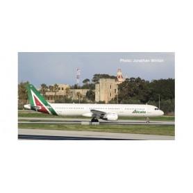 Herpa 533959 Flygplan Alitalia Airbus A321 'Piazza della Signoria GUBBIO'