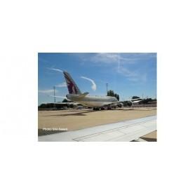 Herpa Wings 533935 Flygplan Qatar Amiri Flight Boeing 747-8 BBJ