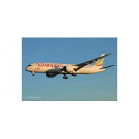 Herpa Wings 533966 Flygplan Ethiopian Airlines Boeing 787-9 Dreamliner