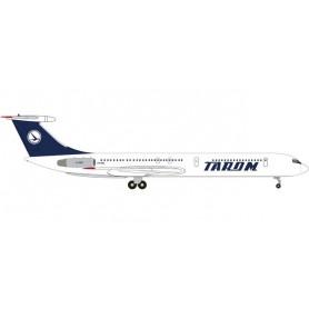Herpa 534000 Flygplan Tarom Ilyushin IL-62M
