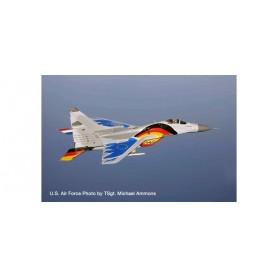 Herpa 580557 Flygplan Luftwaffe Mikoyan MiG-29A Fulcrum – 29+10 - Jagdgeschwader 73 'Fulcrum Farewell Tour 2003'