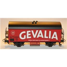 "Märklin 4415.665 Godsvagn 21 RIV 86 DSB 808 8352- ""Gevalia"" Hvilken Kaffe byder du uventede gaester"