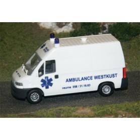 """Busch 47355 Citroën Jumper """"Belgische Ambulanz"""""""
