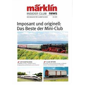 Märklin INS52019 Märklin Insider 05/2019, magasin från Märklin, 23 sidor, tyska