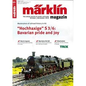 Märklin 331052 Märklin Magazin 5/2019 Engelska