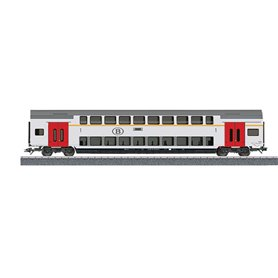 Märklin 00019 Personvagn 2-vånings 1:a klass M6 A 50 88 16-72 002-5 typ NMBS/SNCB