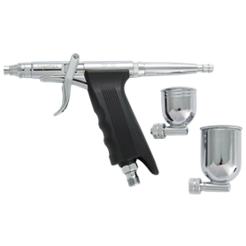Sparmax GP-50 Airbrushpistol GP-50 Sidegravity Double Action, ställbar nål