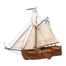 """Master Korabel MK0301 Deck-Boat St. Gabriel 1728 """"Museum Quality"""""""