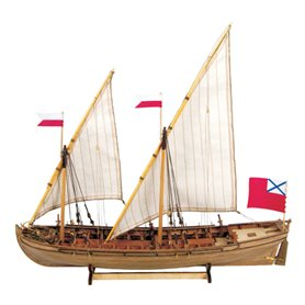 "Master Korabel MK0201 Double Boat 1736-1737 ""Museum Quality"""