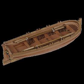 "Master Korabel MK0102 Ships Boat 75 mm ""8 oar"""