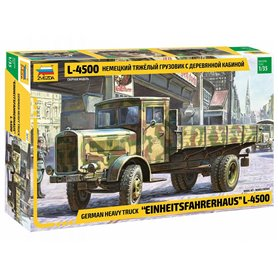 """Zvezda 3647 German heavy truck """"Einheitsfahrerhaus"""" L-4500"""