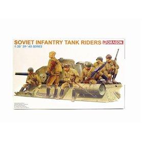 Dragon 6197 Figurer Soviet Infantry Tank Riders
