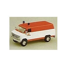 """Trident 90049 Chevrolet Van """"Brandweer Halle"""""""