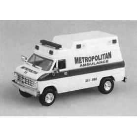 "Trident 90100 Chevrolet Van ""Metropolitan Ambulance"""