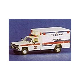 "Trident 90107 Chevrolet ""NYC EMS Ambulance"""